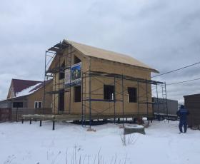 д. Кискелево Строительство дома из СИП панелей