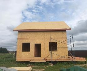 Деревня Аро дом из СИП панелей