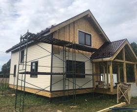 Деревня Хапо Ое. Дом из сип панелей.