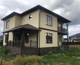 ДНП Вайя. Проект дома из СИП панелей