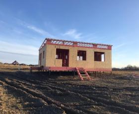 Дом из СИП панелей в д. Красное село
