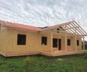 Дом из СИП панелей в Гатчине