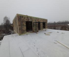 Дом из СИП панелей во Всеволожске
