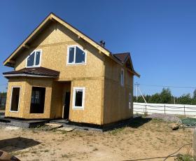 КП Фарпост дом из СИП панелей по проекту Мерлин