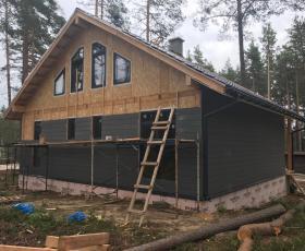 КП Финский Бриз. Загородный дом из СИП панелей