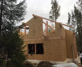 КП Мини Лахти. Строительство дома из СИП панелей