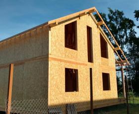 КП Скандинавские высоты. Строительство дома из СИП панелей