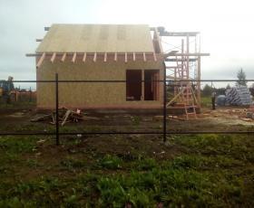 КП Старая Ладога. Строительство дома из СИП панелей