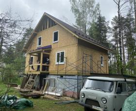 п. Яковлево дом из СИП панелей