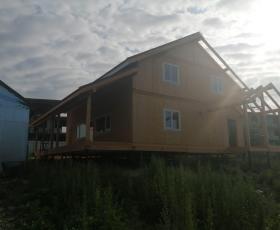 Посёлок Поляны дом из СИП панелей