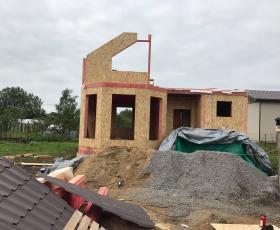 СНТ Тюльпан. Строительство дома из СИП панелей