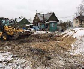 Усть-Ижора. Строительство дома-бани из СИП панелей