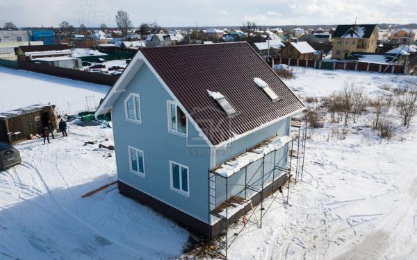 деревня Санино дом из СИП