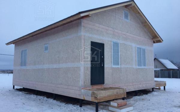 Выборг дом из СИП панелей