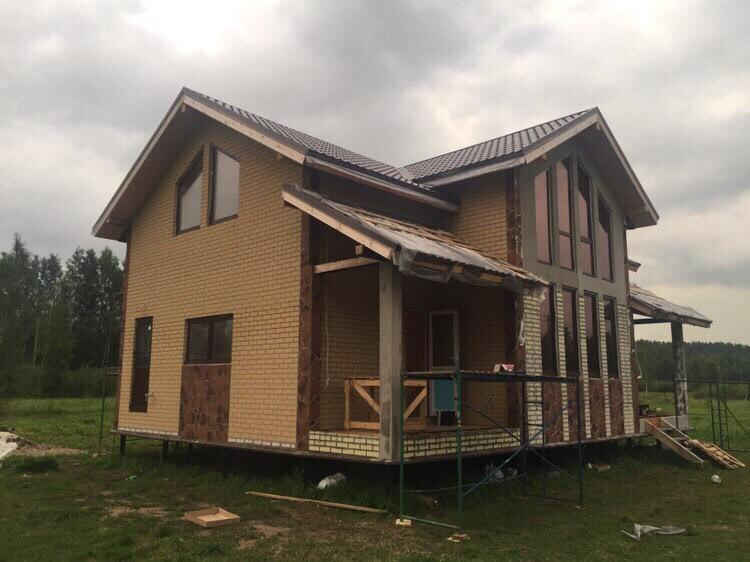 Зелёная Роща дом из СИП панелей