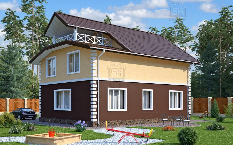 Дом из СИП панелей по проекту Вилючинск