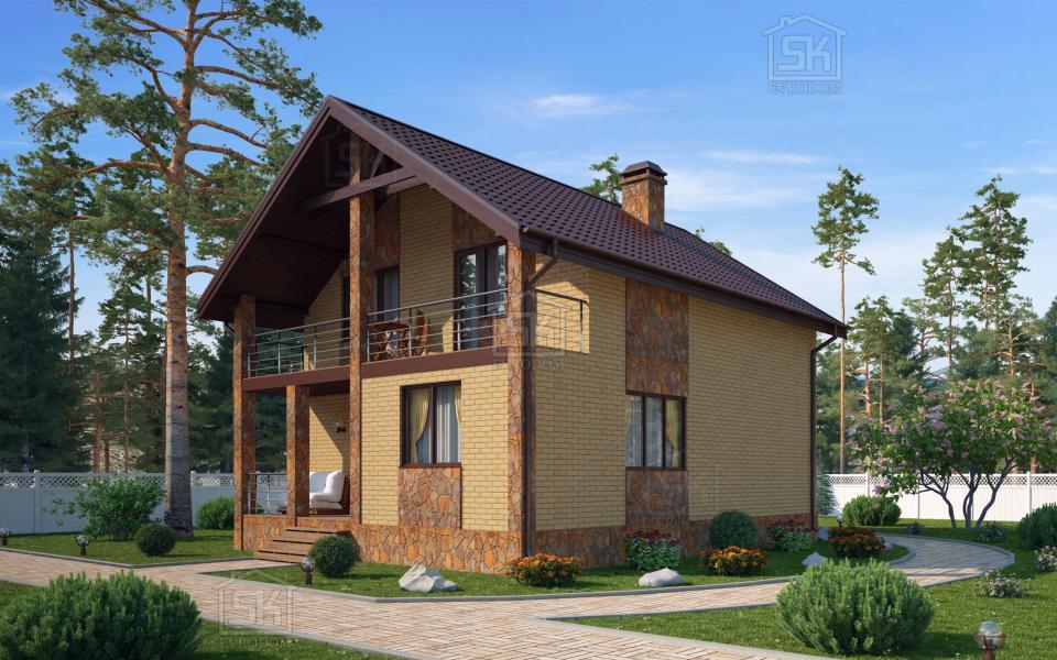 Дом из СИП панелей по проекту Касимово