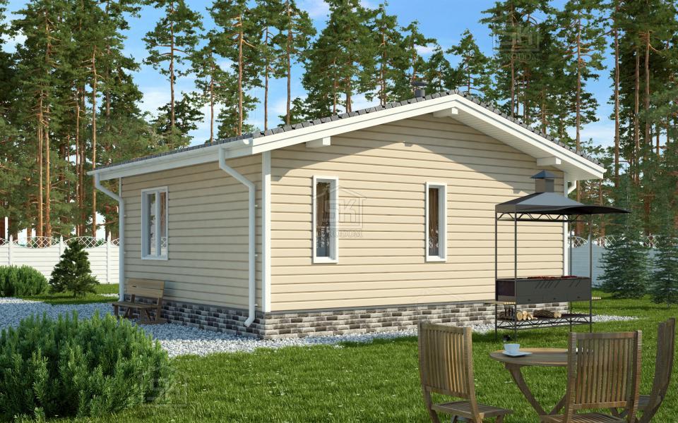 Дом из СИП панелей по проекту Эллин