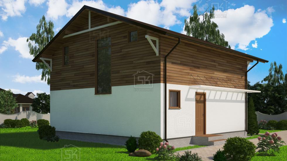 Дом из СИП панелей по проекту Венге