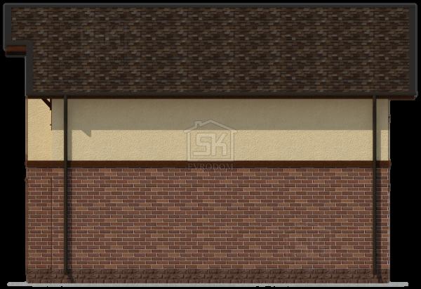 Дом из СИП панелей по проекту Венге - фасады