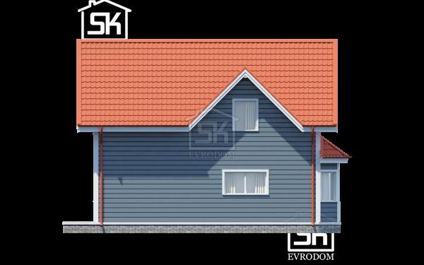 Проект дома из СИП панелей Игора - фасады