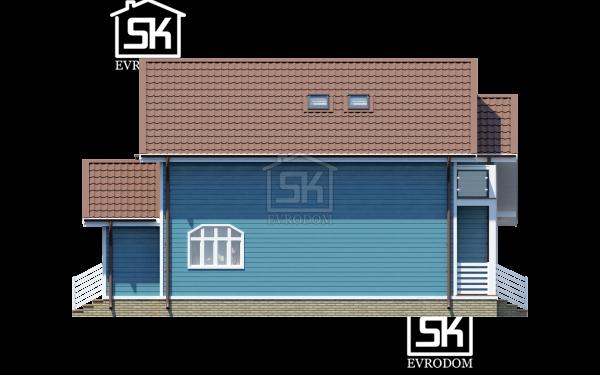 Проект дома из СИП панелей Сосново - фасады