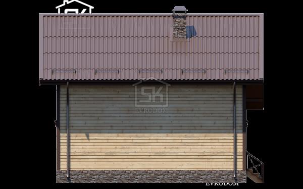 Дом из СИП панелей по проекту Сиена - фасад