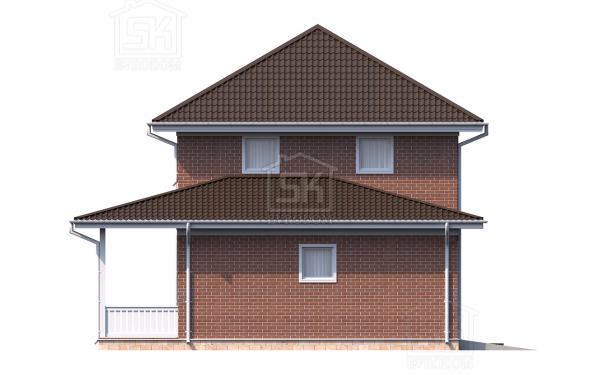 Проект дома из СИП панелей Дружное - фасад