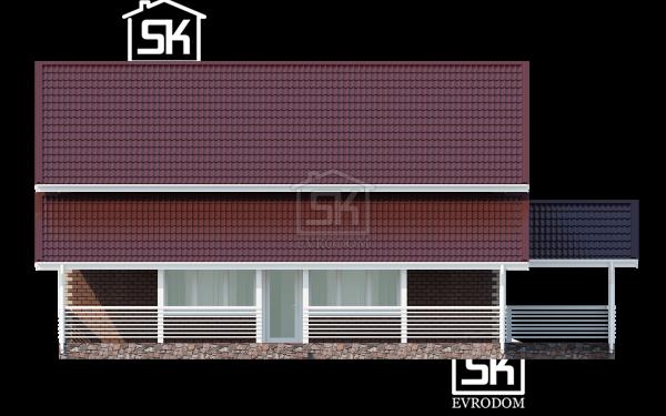 Поляны фасад