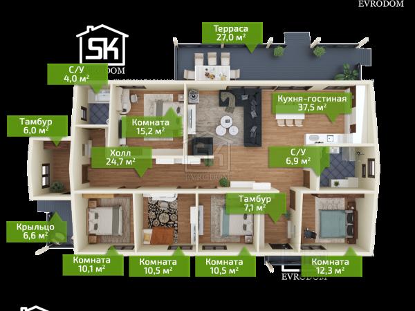 Жихарево план первого этажа