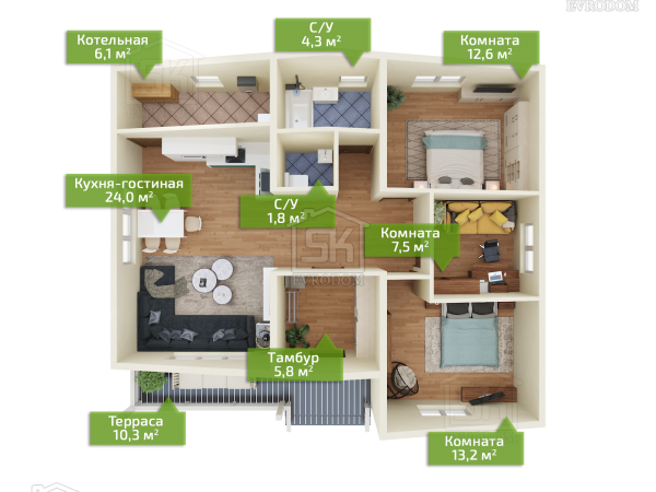 Фаворит план первого этажа
